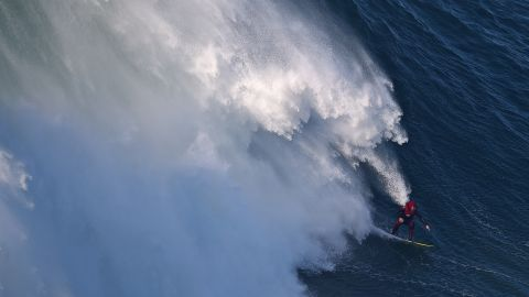 Andrew Cotton's passion and profession is tackling the world's biggest waves on his surfboard.