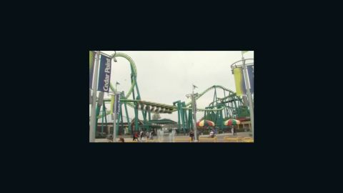 Cedar Point injury leaves man with leg full of stitches