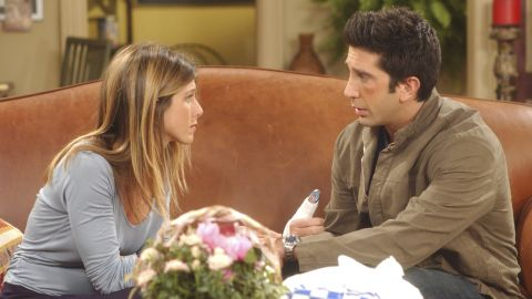 """Few sitcom couples have had the impact of Ross Gellar (David Schwimmer) and Rachel Green (Jennifer Aniston). Their romance was the major driving force behind the early success of """"Friends,"""" solidifying NBC's dominance on Thursday nights in the 1990s. Ten wildly popular seasons meant that we saw them on again, off again and on again. Yes, they even had a child together."""
