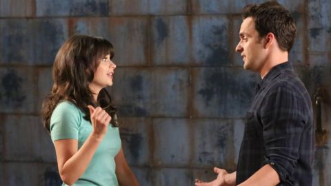 """When Zooey Deschanel's Jess moved in with three guys in Fox's hit sitcom """"New Girl,"""" you knew she would end up with one of them. It soon became clear that she had a connection with Nick (Jake Johnson), but fans wondered how long before they would become a couple."""