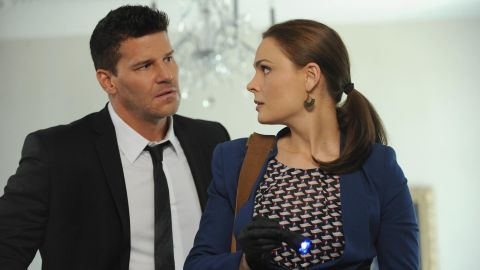 """Dr. Temperance """"Bones"""" Brennan and Seeley Booth were a mismatched pair from the start, but audiences have eaten up the chemistry of Emily Deschanel and David Boreanaz."""