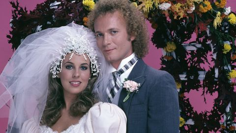 """Soaps never saw anything like Luke (Anthony Geary) and Laura (Genie Francis) and haven't since. The couple's wedding in 1981 broke ratings records, and """"General Hospital"""" has brought them back off and on in the years since."""