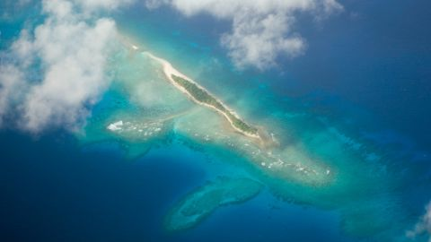 The Marshall Islands is one of the island nations at risk of disappearing because of climate change.