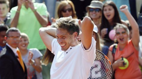 Mahut said he plans on playing as long as he remains healthy. How would he like to end his career? Playing doubles with Isner at Wimbledon.