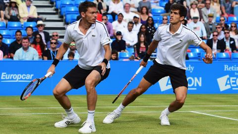 He followed up that success by winning the doubles title at Queen's Club in London with Pierre-Hugues Herbert -- also his partner when they reached the 2015 Australian Open final.