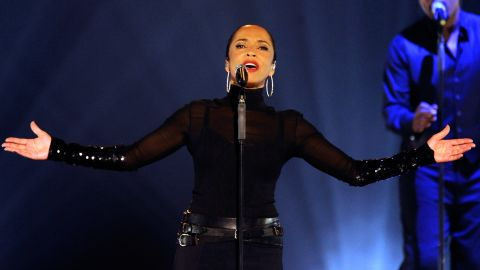 """It's hard to follow Sade, seen here in 2011. The singer who performed """"Your Love Is King"""" and other songs at Live Aid openly admits she """"avoids celebrity."""" <a href=""""http://www.reuters.com/article/2012/05/24/entertainment-us-sade-idUSBRE84N0SO20120524"""" target=""""_blank"""" target=""""_blank"""">She told Reuters</a> in 2012, """"I don't consider myself a celebrity, I consider myself a songwriter and a singer -- a person who makes music.""""<br />"""