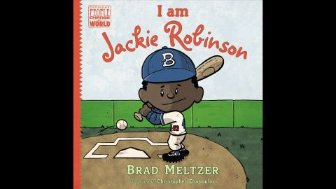 """""""Part of Brad Meltzer's popular 'Ordinary People Change the World' series, early readers will learn the inspiring story of Jackie Robinson, the first black player in Major League Baseball, who overcame countless obstacles to realize his dream and create lasting change in the world around him,"""" Wilson said. Nonfiction, ages 5-8."""