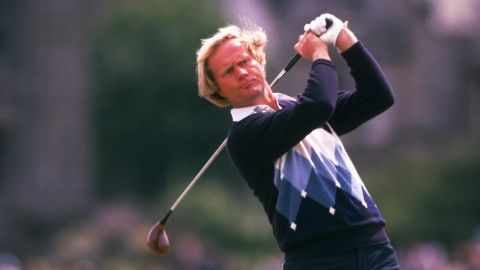 Nicklaus won his third British Open title in 1978 -- his second triumph at the home of golf, St. Andrews.