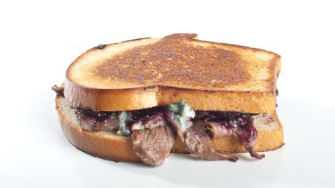Oregon's PBJ's Grilled sells a sandwich filled with hazelnut butter, marionberry jam, blue cheese and pan seared duck.