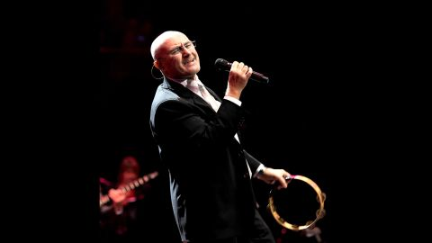 Phil Collins performs at The Prince's Trust Rock Gala 2010 supported by Novae at the Royal Albert Hall on November 17, 2010 in London, England.