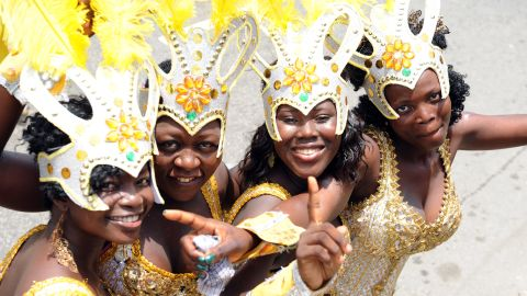 """Lagos Carnival. Mastercard's Index predicts a 5.9% fall in visitors to Lagos this year, yet the city is still tipped to draw in 885,000 people. <br /><br /><a href=""""https://www.cnn.com/2015/08/10/africa/eko-atlantic-gbenga-oduntan-conversation/index.html"""" target=""""_blank""""><strong>Read this: Step into Lagos's answer to Dubai</strong></a>"""