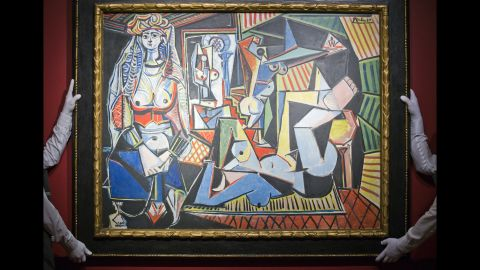 """When Pablo Picasso's """"Les Femmes d'Alger (Version O)"""" sold for $179,365,000, it broke the world auction record for any work of art, according to Christie's."""