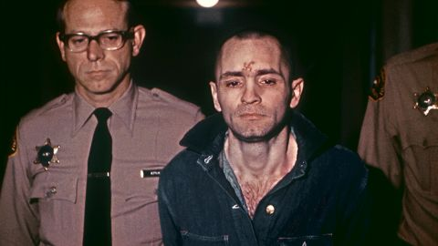 """A beardless Charles Manson, sporting a shaved head in 1971. """"The very name 'Manson' has become a metaphor for evil, catapulting him to almost mythological proportions,"""" according to the late Vincent Bugliosi, the district attorney responsible for prosecuting Manson."""