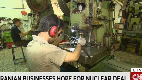 iran businesses hope for nuclear deal pkg pleitgen wrn_00000000.jpg