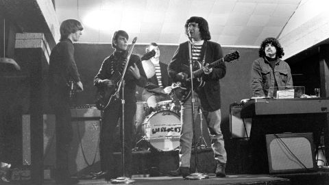 The Grateful Dead in the early days, here performing as the Warlocks, circa 1965.