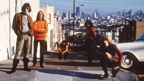 The band at the beginning of the psychedelic era in San Francisco, circa 1965.