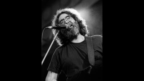Garcia sings in Berkeley, California, in 1981.