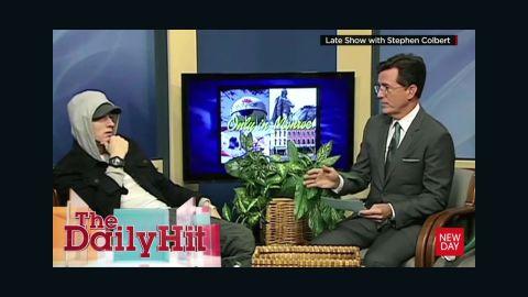 Stephen Colbert interviews Eminem on Michigan public access show Daily Hit Newday _00005130.jpg