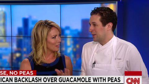 debate over peas in guacamole recipe clark coogan intv nr _00023311.jpg