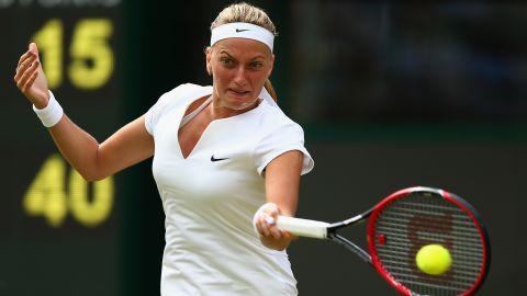 Women's champion Petra Kvitova also progressed into round three, beating Japan's Kurumi Nara 6-2 6-0.