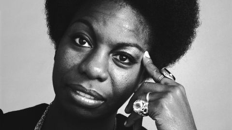 """Jazz icon and civil rights activist Nina Simone, pictured here in 1969, is the subject of the new Netflix documentary """"What Happened, Miss Simone?"""" The legendary singer's deep, raspy voice made her a unique figure in jazz. She died in 2003 at age 70."""