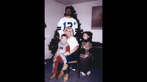 """A family photo shows Darlie Routier; her husband, Darin; and their sons Damon and Devon. On June 6, 1996, both children were brutally stabbed to death in their Dallas-area home. Darlie Routier's throat was slashed that night; a necklace she had been wearing apparently saved her life as it stopped the knife from hitting her carotid artery.<br /><br />Within days, police arrested Darlie Routier and charged her with the two boys' murders. She was convicted and sentenced to death. To date, she has steadfastly claimed a home intruder was responsible for the attack and that she is innocent. <br /><br />CNN Original Series <a href=""""http://www.cnn.com/shows/death-row-stories"""">""""Death Row Stories""""</a> airs Sundays at 10 p.m. ET/PT."""
