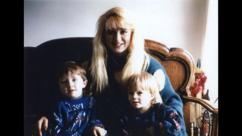 Darlie Routier was a 26-year-old mother of three boys at the time of the killings. Here, she's seen in a family photo with the slain Devon and Damon. Drake, the third son, who was an infant at the time of the murders, was asleep upstairs and was not injured.