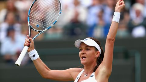 And it was the 2012 finalist who prevailed. It's been a tough season for Radwanska, so the victory was much needed.