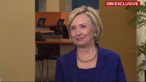 Hillary Clinton exclusive CNN interview in under four minutes _00000000.jpg