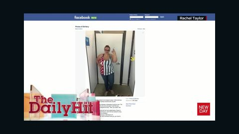 Woman's plus-sized Old Navy selfie goes viral daily hit newday _00003803.jpg
