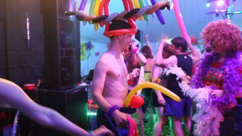 Porcfest Party Guy