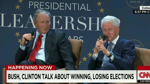 bill clinton george w bush sot erin _00004326.jpg