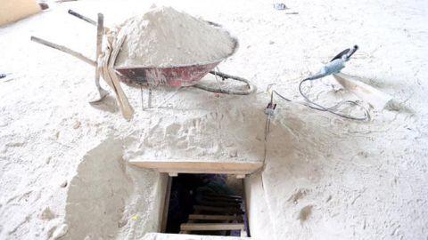 The tunel that el Chapo used to escape