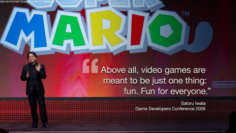 Satoru Iwata, who passed away July 11, 2015, served as the fourth president and chief executive officer of Nintendo -- and was as beloved as the video game characters he helped create. Taking over as president in 2002, at the age of 42, Iwata was the first in the company's history who was outside of the founding Yamauchi family.