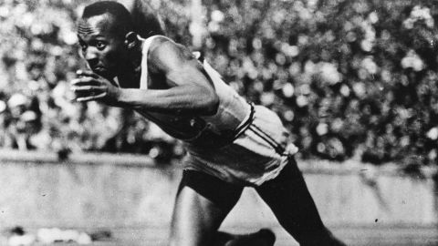 Jesse Owens was the star of the Berlin Games, winning four gold medals and shattering a number of world records. The American won the 100-yard and 200-yard dash as well as the long-jump. He also ran in the 4x100-yard relay despite protesting after two of his Jewish teammates were left out.