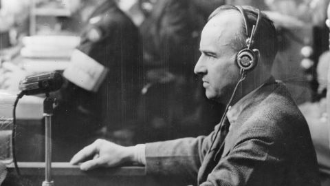 Trials of major war criminals, including the upper echelon of surviving Nazi officials, took place in Nuremberg, Germany, on the heels of World War II. The Nuremberg Trials resulted in 12 death sentences, three life imprisonments, four shorter prison terms and three acquittals. Among those sentenced to death at Nuremberg was Hans Frank, former governor general of occupied Poland. Frank was found guilty of war crimes and crimes against humanity. He was executed by hanging in 1946.
