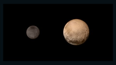 """No spacecraft had ever gone to Pluto before NASA's <a href=""""https://www.nasa.gov/mission_pages/newhorizons/main/index.html"""" target=""""_blank"""" target=""""_blank"""">New Horizons</a> made its fly-by on July 14, 2015. The probe sent back amazing, detailed images of Pluto and its largest moon, Charon. It also dazzled scientists with new information about Pluto's atmosphere and landscape. New Horizons is still going today, heading out into the Kuiper Belt."""