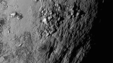 New close-up images of a region near Pluto's equator were released by NASA in 2015. The New Horizons spacecraft was launched in 2006. It's the first spacecraft to explore Pluto and its moons. The mission completed the reconnaissance of the classical solar system, and it made the United States the first nation to send a space probe to every planet from Mercury to Pluto.