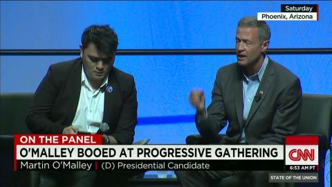 """SOTU Panel: O'Malley booed for saying """"All lives matter""""_00002420.jpg"""