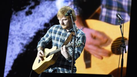 """Best male video: Ed Sheeran (pictured), """"Thinking Out Loud""""; Mark Ronson feat. Bruno Mars, """"Uptown Funk""""; Kendrick Lamar, """"Alright""""; The Weeknd, """"Earned It""""; Nick Jonas, """"Chains.""""<br />"""