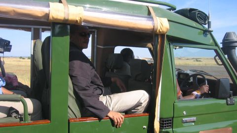 A safari in the Maasai Mara National Reserve was one of the side trips on Obama's 17-day, six-nation tour of Africa in 2006.