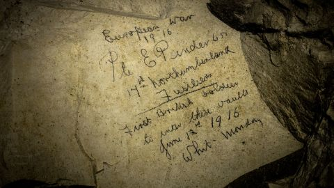 Gusky is among the rare members of the public who have been permitted to see the cave interiors.
