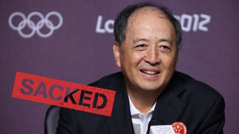 """China <a href=""""http://cnn.com/2015/07/17/sport/china-sport-official-sacked/"""">sacked one of its top sporting officials</a> on July 16 because he's under investigation over allegations of corruption. Xiao Tian has been removed from his post as the deputy director of the General Administration of Sport (GAS). He's also a vice chairman of China's national Olympic committee, and was often its public face."""