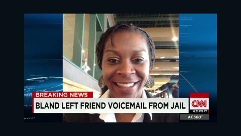 sandra bland voicemail jail sot cooper ac_00004310.jpg
