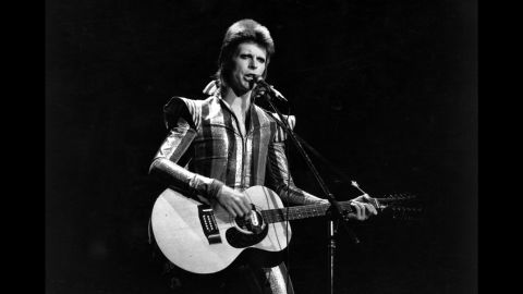 """David Bowie -- aka """"Ziggy Stardust,"""" aka the """"Thin White Duke"""" -- is one of the most iconic pop figures of the '70s. His shape-shifting persona was emblematic of the fluidity of his sound and style, ranging from the far-out """"Moonage Daydream"""" to more traditional songs like """"Heroes"""" and """"Changes."""" Learn more about the music of the 1970s in the CNN original series, """"<a href=""""https://www.cnn.com/shows/the-seventies"""" target=""""_blank"""">The Seventies</a>."""""""