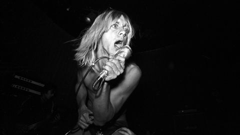 """This former frontman of the Stooges is recognized as a major influence on the early punk scene. In the '70s, his collaboration with David Bowie fueled his biggest commercial success, 1977's """"Lust for Life."""" The unforgettable opening drumbeat has infiltrated the sonic landscape through widespread reuse in commercials, film, and songs like Jet's """"Are You Gonna Be My Girl."""""""