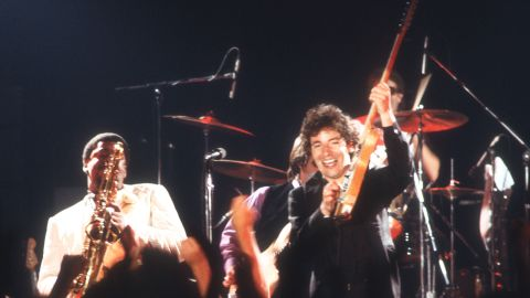"""Hits """"Born to Run and """"Thunder Road"""" breathed new life into the rock scene in the 1970s, with some critics quick to label Springsteen as the """"new Dylan."""" His songs told stories of everyday life and youthful rebellion, imbuing them with a sense of splendor, urgency, and importance."""