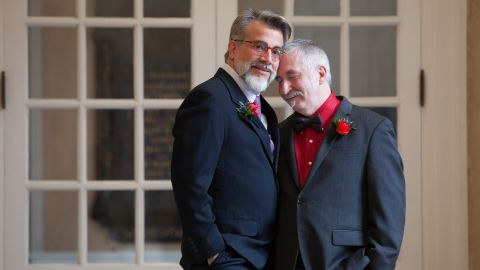 """Photo from Alex Barnett for """"Same-sex couples celebrate vows across the nation"""