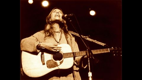 """Mitchell's acoustic-folk style took elements of the '60s hippie movement and gave them new life in the '70s by incorporating influences from pop and jazz. """"A Case of You,"""" """"California,"""" and """"River"""" offer Mitchell's heartfelt intimations on love, loss and wanderlust."""