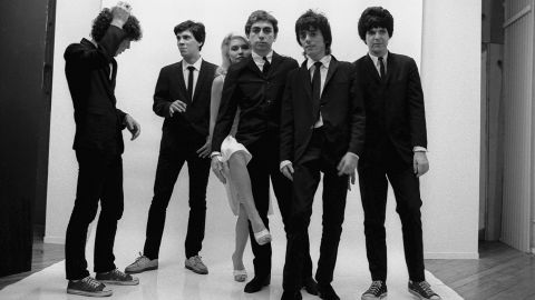 """A mainstay of New York's vibrant punk and new-wave scenes in the mid '70s, Blondie broke out in 1978 with the reggae- and disco-infused """"Heart of Glass"""" off its third album, """"Parallel Lines."""" Lead singer Debbie Harry used her powerful voice, punk attitude and unapologetically glamorous personal style to create a new archetype for women in rock."""